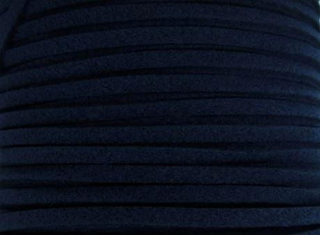 Picture of 3x1,2 mm, Ultra suede synthetic lace, navy blue
