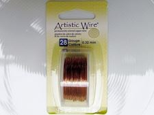 Picture of Artistic Wire, copper craft wire, 0.32 mm, natural copper