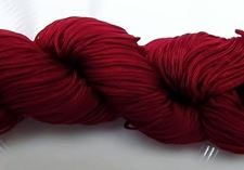 Picture of Chinese knotting cord - braided nylon cord, 0.8 mm, garnet red