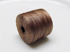 Picture of S-lon cord, size 18, medium brown