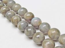 Picture of 12x12 mm, round, gemstone beads, labradorite, natural, AB-grade