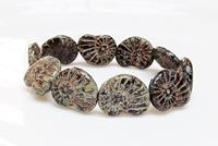 Picture for category Czech Druk Beads - Flat Oval and Nautilus Shapes