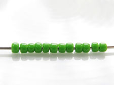 Picture of Japanese seed beads, Toho, size 11/0, mint green, opaque