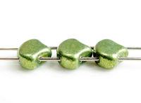 Image pour la catégorie Perles tchèques feuille de Ginkgo ou de l'arbre aux 40 écus - avec 2 trous